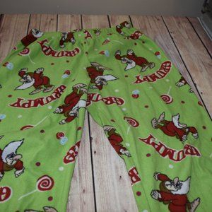 Women's Small Disney Grumpy Dwarf Pajama PJ Pants